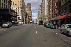 De Weg New York van het park Stock Foto's
