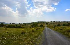 De weg spoedig Vallei van de Kanhattituin Royalty-vrije Stock Afbeeldingen