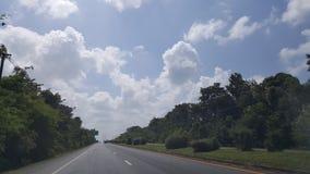 De Weg in Thailand Royalty-vrije Stock Foto