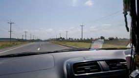 De Weg in Thailand Stock Afbeelding