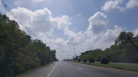 De Weg in Thailand Royalty-vrije Stock Foto's