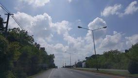 De Weg in Thailand Stock Fotografie