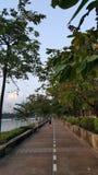 De Weg in Thailand Royalty-vrije Stock Afbeelding