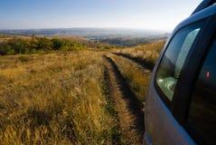 De weg uit de vallei Stock Afbeelding