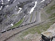 De weg van alpen Royalty-vrije Stock Fotografie