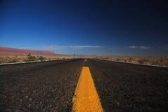 De weg van Arizona Stock Fotografie