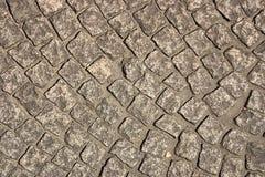 De weg van bakstenen Stock Afbeeldingen