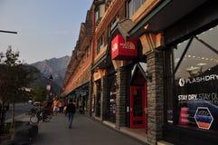 De Weg van Banff Stock Foto