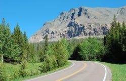 De weg van bergen Stock Fotografie