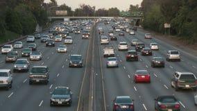 De weg van Californië timelapse stock footage