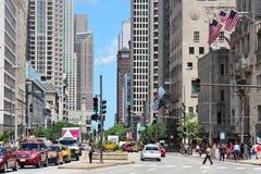 De Weg van Chicago Royalty-vrije Stock Fotografie