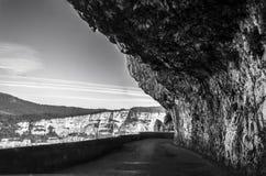 De weg van Combelaval Royalty-vrije Stock Afbeelding