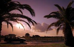De weg van Corsica Stock Fotografie
