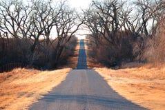 De Weg van Counrty stock afbeelding