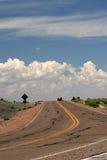 De weg van Curvy Royalty-vrije Stock Fotografie