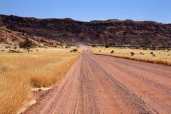 De weg van Damaraland Royalty-vrije Stock Foto