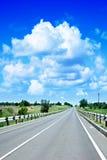 De weg van de auto Royalty-vrije Stock Foto
