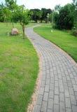 De weg van de baksteen Stock Afbeelding
