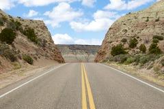 De weg van de berg Stock Afbeelding