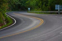 De Weg van de Berg van de slang Stock Afbeelding