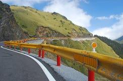 De weg van de berg van Taiwan Royalty-vrije Stock Foto