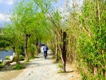De weg van de Caicunstad Stock Afbeeldingen