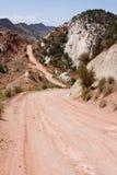 De Weg van de Canion van Cottonwood Stock Afbeelding
