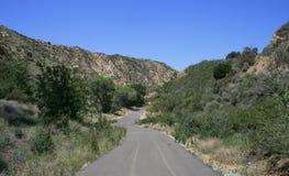 De Weg van de Canion van Pico Stock Fotografie