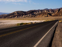 De Weg van de doodsvallei Stock Foto's