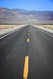 De Weg van de doodsvallei Royalty-vrije Stock Afbeelding
