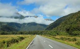 De weg van de Haastpas stock foto