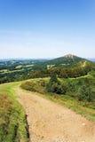 De weg van de heuveltop Royalty-vrije Stock Foto