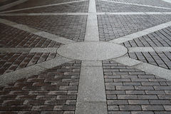 De weg van de kei stock afbeelding
