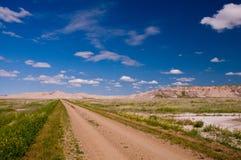 De Weg van de Lijst van de Berg van schapen stock afbeelding