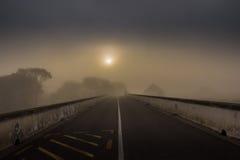 De weg van de mysticus Stock Foto's