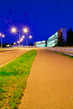 De weg van de nacht Stock Foto's