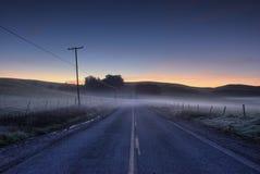 De Weg van de ochtend Royalty-vrije Stock Afbeelding