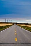 De Weg van de prairie stock afbeelding