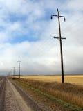 De Weg van de prairie Royalty-vrije Stock Fotografie