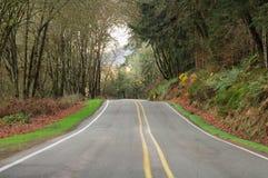 De Weg van de provincie Royalty-vrije Stock Fotografie