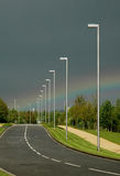 De Weg van de regenboog Stock Afbeelding