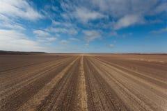 De weg van de Skeleonkust Stock Afbeelding