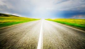 De weg van de snelheid Royalty-vrije Stock Foto's