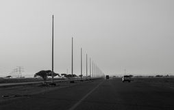 De weg van de stadsweg Royalty-vrije Stock Foto