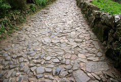 De weg van de steen Royalty-vrije Stock Afbeeldingen