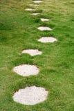 De weg van de steen royalty-vrije stock foto