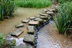 De weg van de steen Stock Fotografie