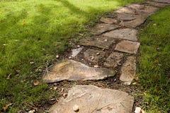 De Weg van de steen stock foto's