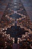 De weg van de steen in de straten o stock afbeelding