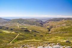 De weg van de Swartbergpas - Weinig Karoo, Zuid-Afrika Royalty-vrije Stock Fotografie